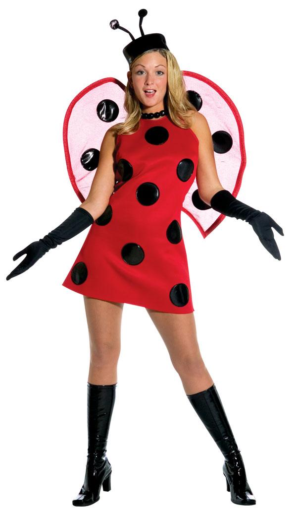 600x1034 Ladybug Costume For Women Clipart Panda