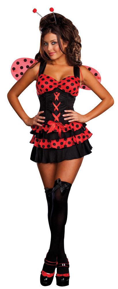 410x1000 Sexy Lovely Ladybug Costume