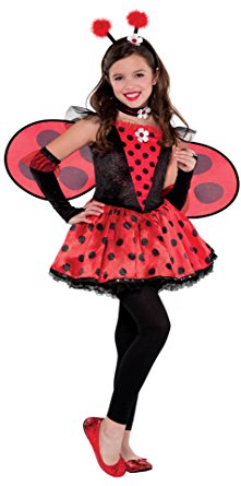 221x445 Children's Totally Ladybug Costume Size Small (4 6