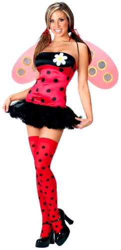 243x500 Fun World Women's Lovely Ladybug Costume Clothing