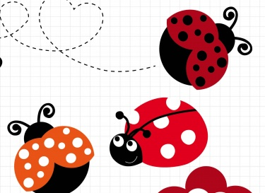 375x273 Bugs Clipart Flying Lady