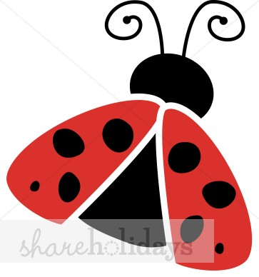 363x388 Ladybug Wings Clipart Easter Clipart