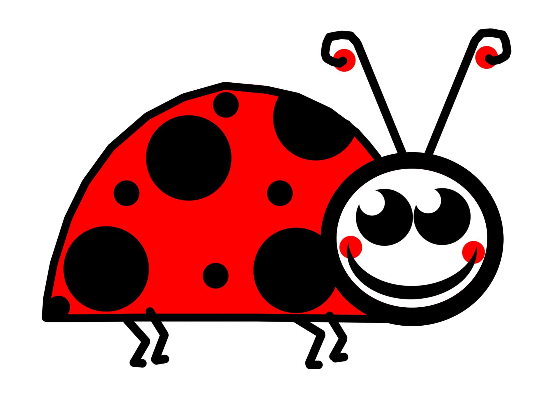 1920x1371 Lady Bug Clipart