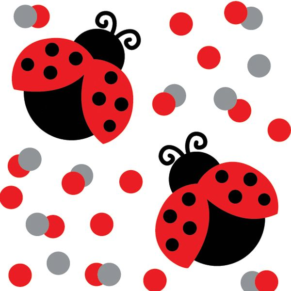 600x600 Ladybug Clipart First Birthday Ladybugs Number Image 5