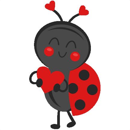 432x432 Valentine Ladybug Svg Scrapbook Cut File Cute Clipart Files