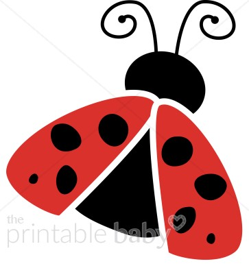 363x388 Winged Ladybug Clipart Baby Clipart