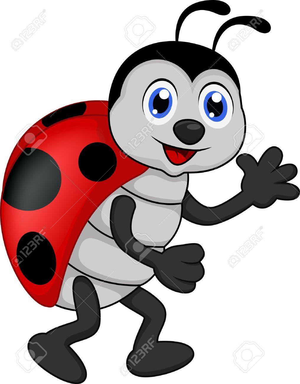 1016x1300 Funny Ladybug Clipart