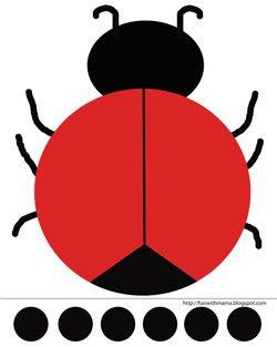 250x313 336 Best Ladybugs Images Workshop, Spring