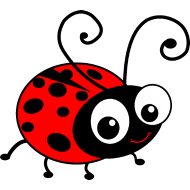 190x190 Ladybird Clipart
