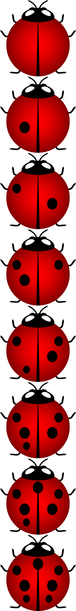 250x2000 Lucky Lady Bug By Get Free Divination Games Just