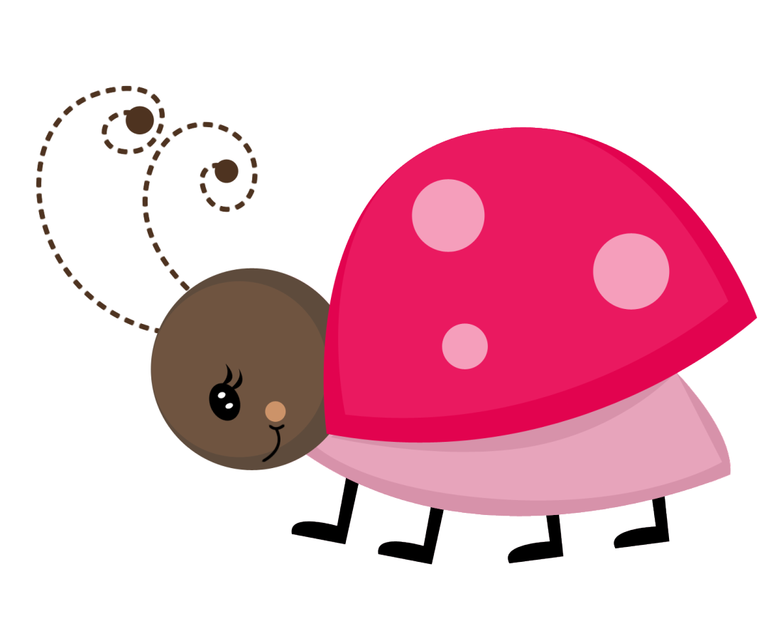 1087x870 Pink Ladybug Clipart
