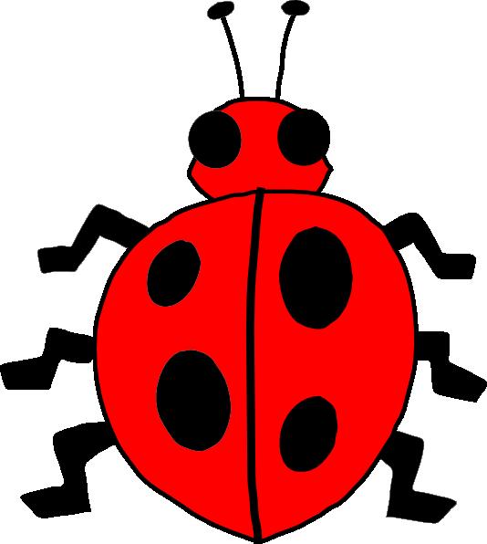 534x596 Cartoon Ladybug Clipart