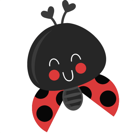 432x432 Cute Ladybug Svg Scrapbook Title Svg Cutting Files Ladybug Svg