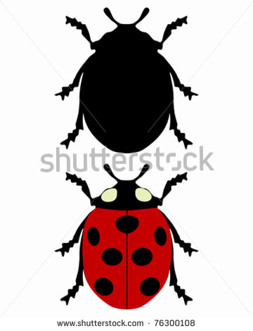 360x470 Ladybug Silhouette