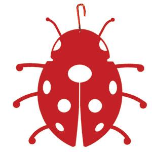 300x300 Ladybug Silhouette