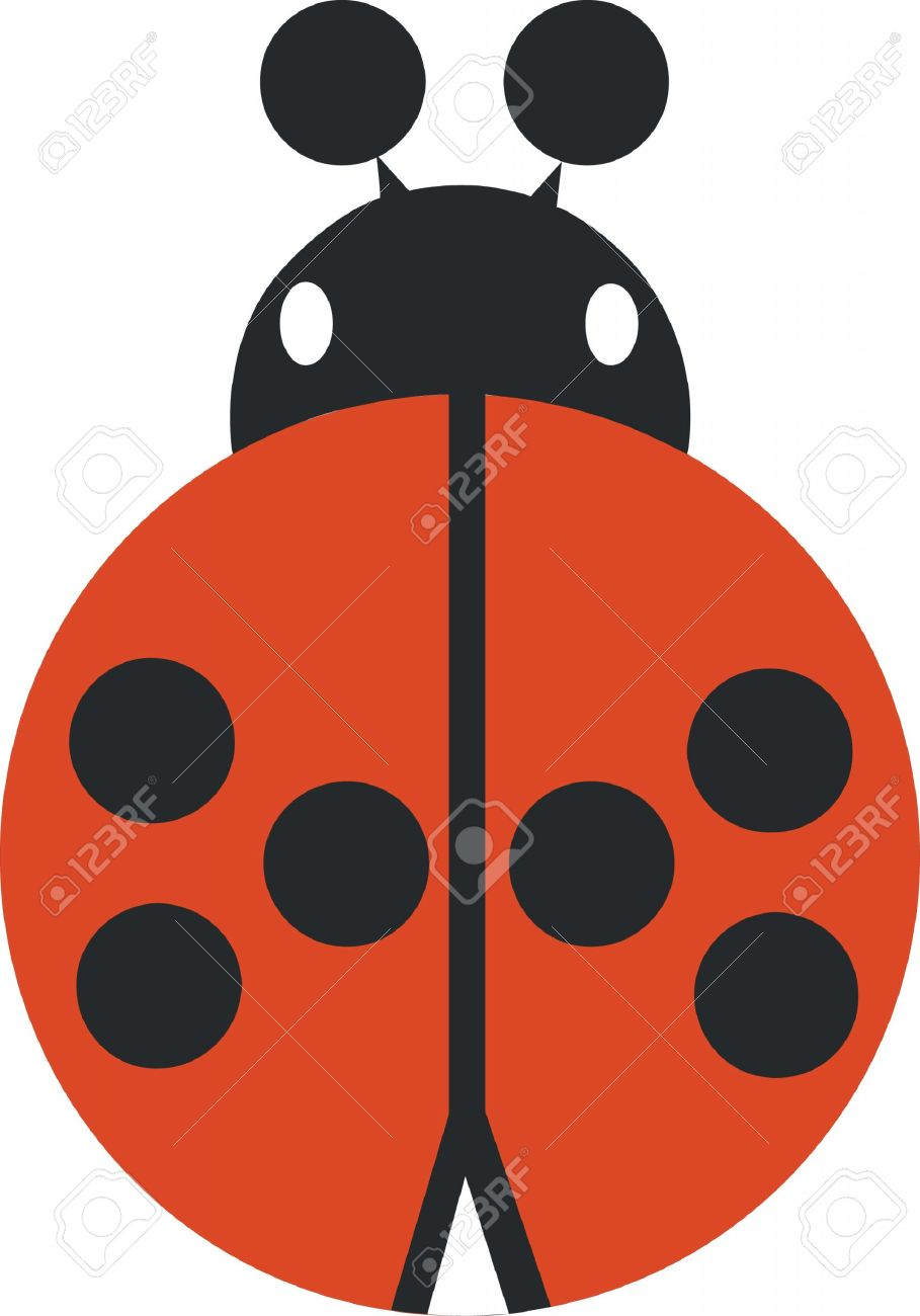 909x1300 Ladybug Silhouette