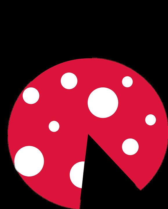579x720 Ladybug Silhouette