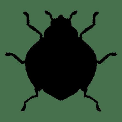 512x512 Ladybug Silhouette