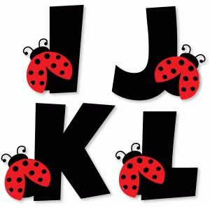 300x300 Silhouette Design Store Ladybug Alphabet Masha