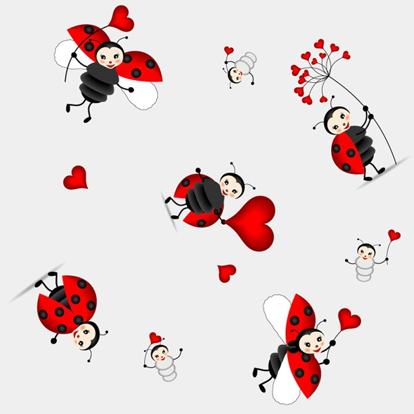 600x600 Photo Collection Cute Ladybug Wallpaper