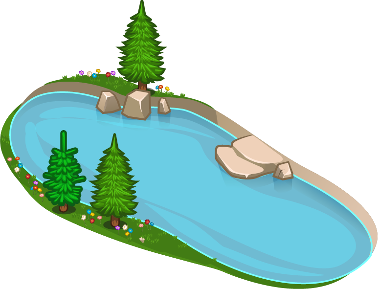 775x591 Lake clipart transparent