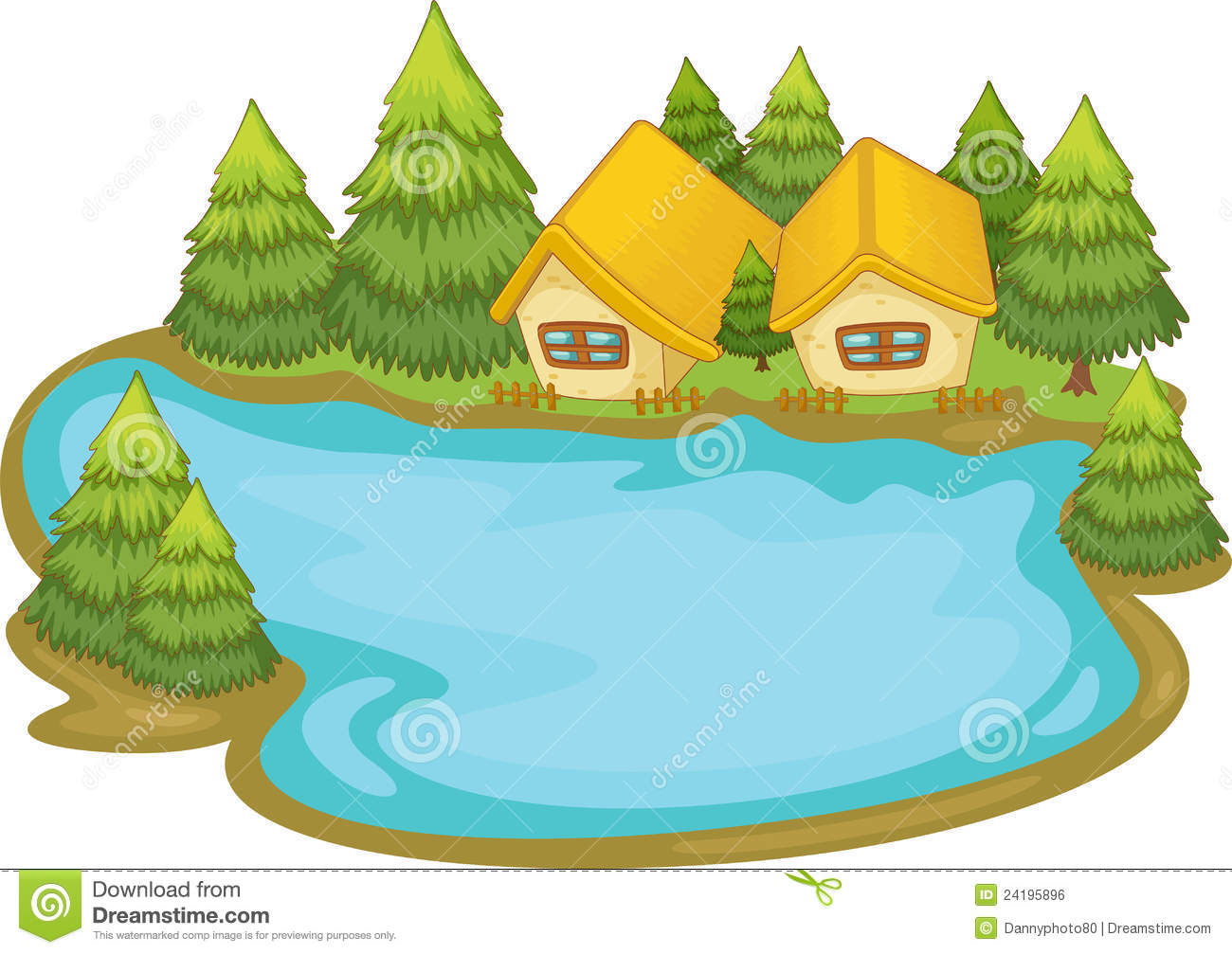 1300x1007 Lake Clipart Cartoon