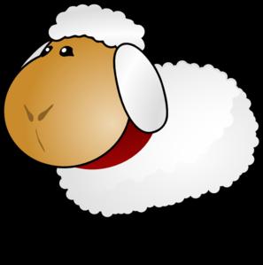 297x299 Sheep, Rotate 6 Clip Art