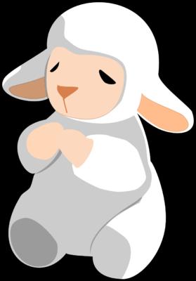 279x400 Image Download Praying White Lamb
