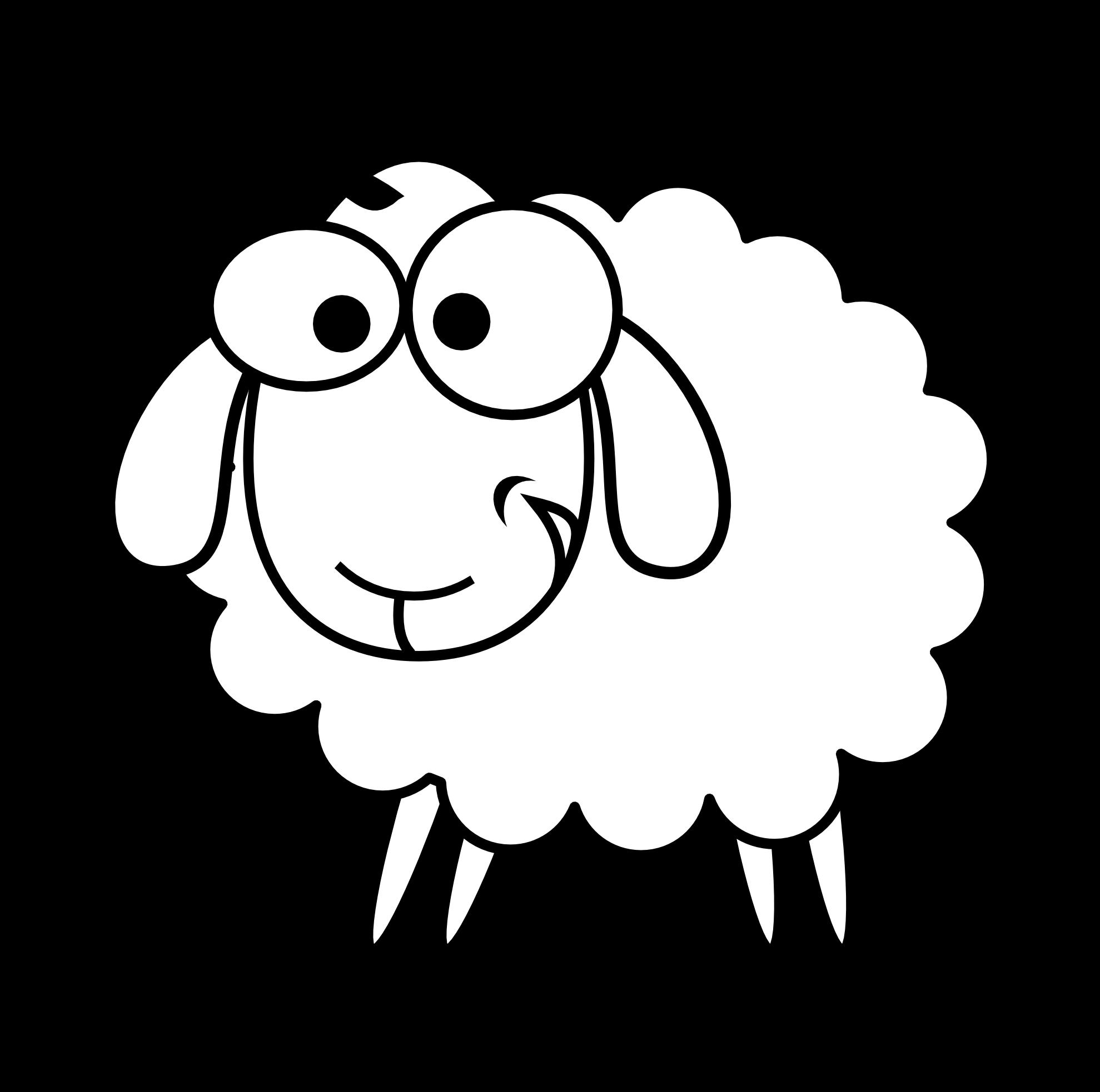 1979x1966 Black Lamb Cliparts 181038