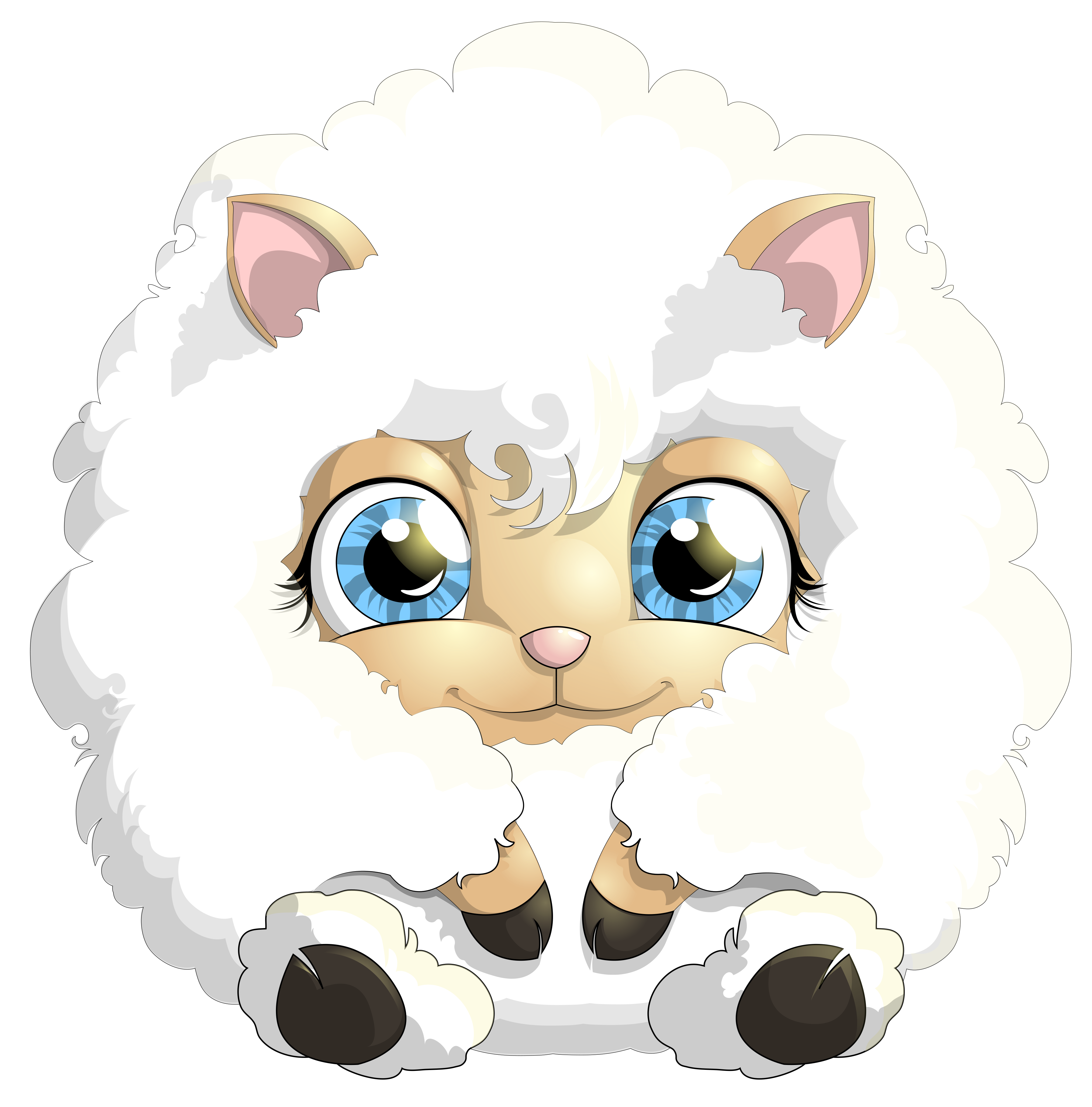 4052x4108 Cute Lamb Png Clipart Pictureu200b Gallery Yopriceville