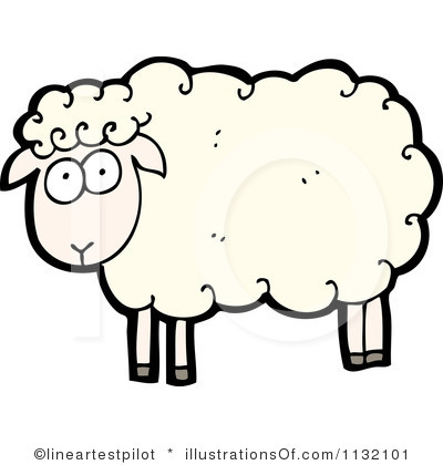 400x420 Lamb Clipart Sad