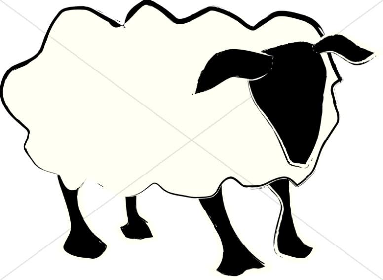 776x568 Lamb Clipart Staff
