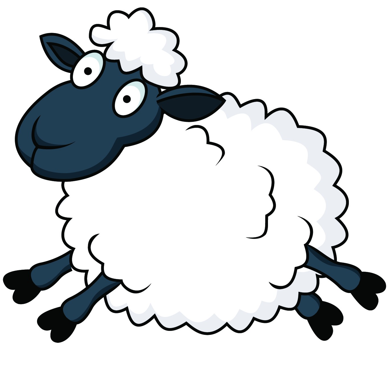 1366x1345 Cartoon Sheep Funny Eid Ul Adha Sheep In Cartoon Pictures