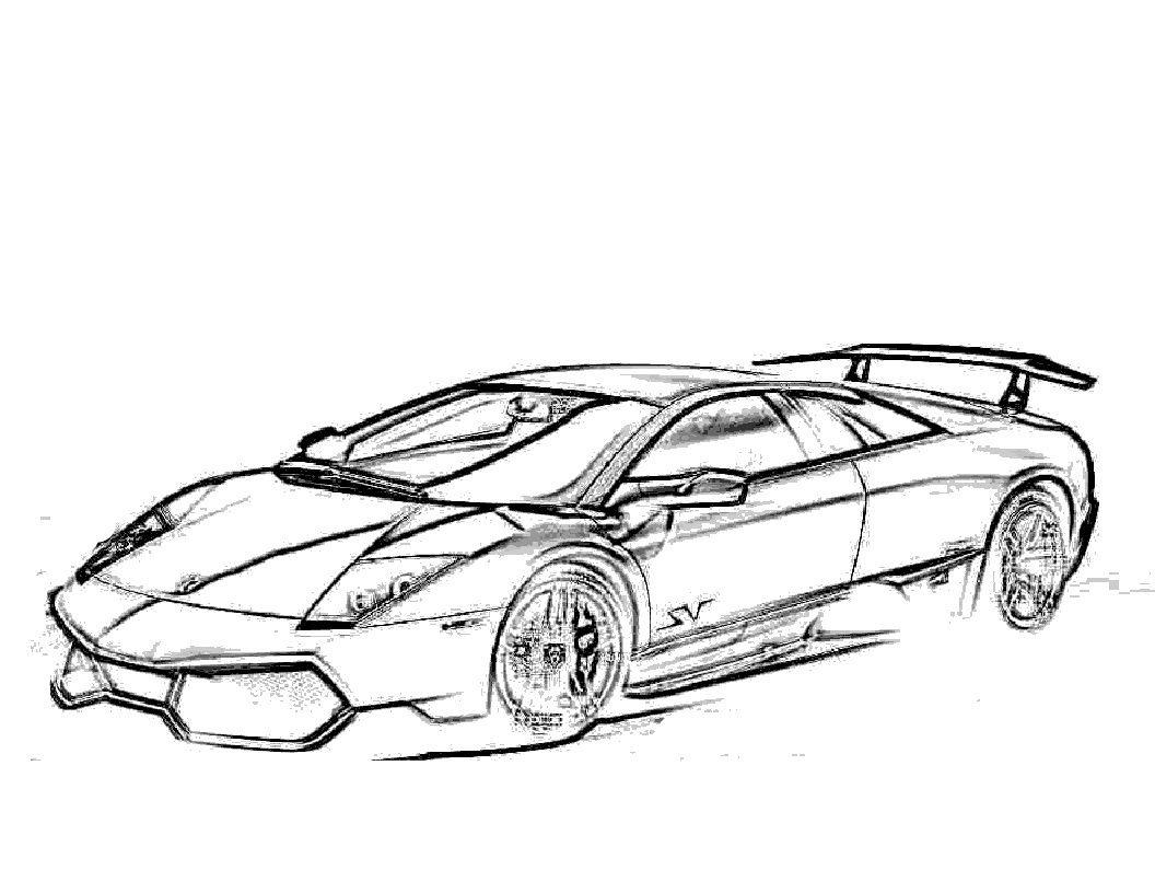 1056x816 Enjoyable Lamborghini Coloring Pages