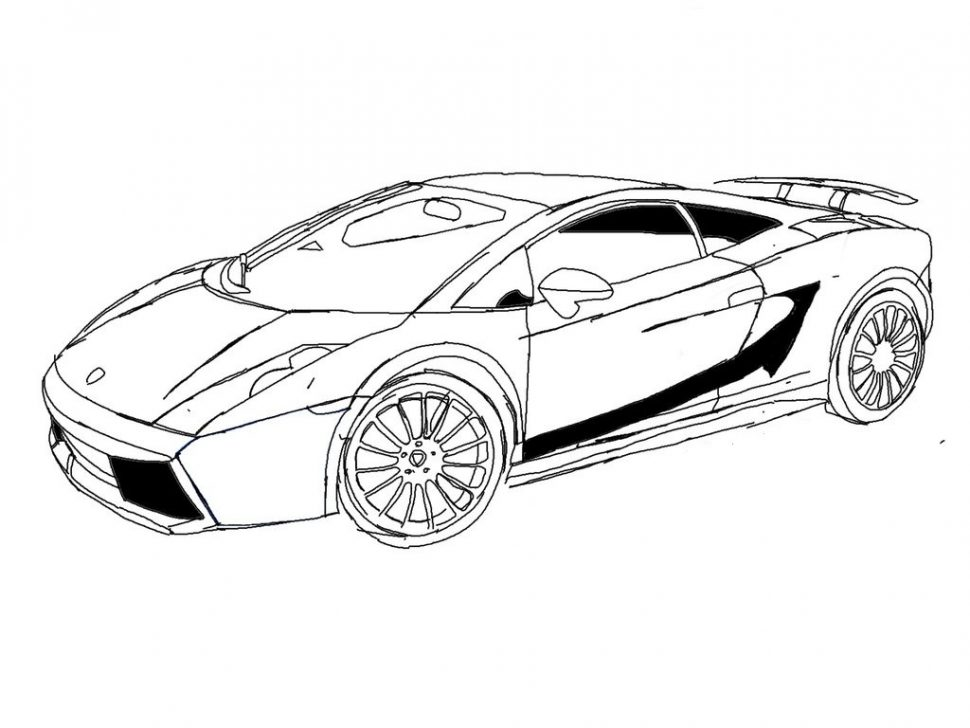 Lamborghini Coloring Pages | Free download best Lamborghini Coloring ...