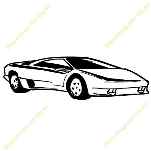 500x500 Lamborghini Clip Art