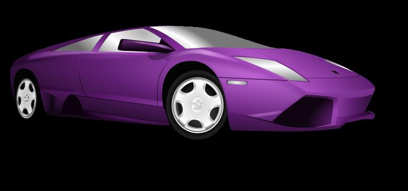 800x375 Lamborghini Top View Clip Art Cliparts