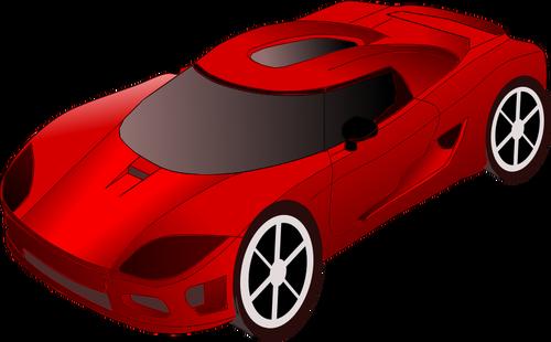 500x310 8017 Cartoon Sports Car Clip Art Free Public Domain Vectors