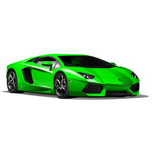 300x300 Car Green Clipart, Cliparts Of Car Green Free Download (Wmf, Eps