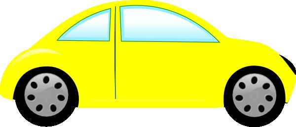 600x258 Yellow Car Bug Car Clip Art