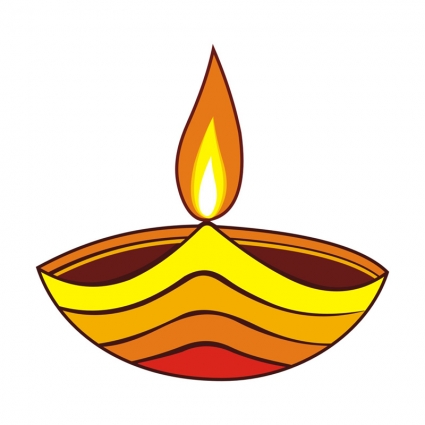 425x425 Lamp Clipart Diwali Lamp