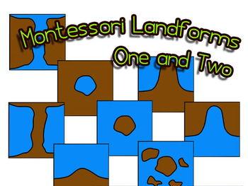 350x263 Montessori 3 Part Cards Landforms Drawings Amp Photos By Lcallard21