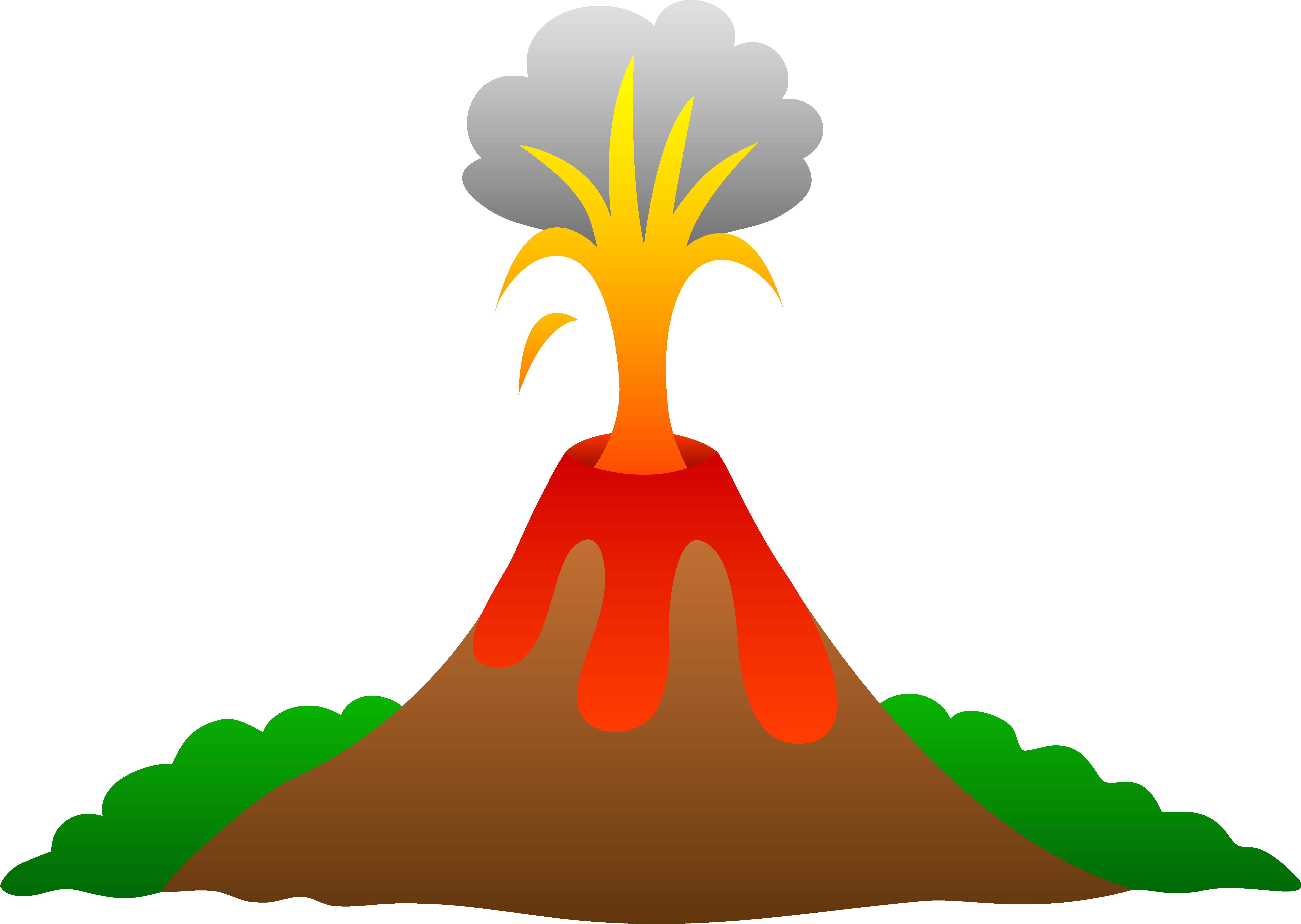 7520x5343 Volcano Erupting With Lava