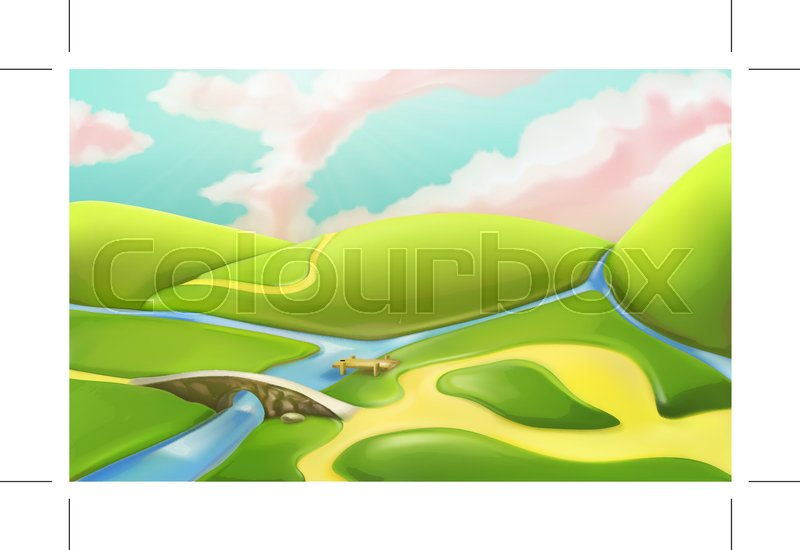 Landscape Cartoon Pictures