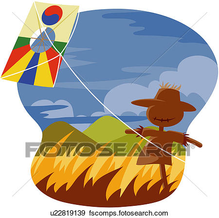450x448 Clip Art Of Climate, Countryside, Rural Community, Non Urban Scene