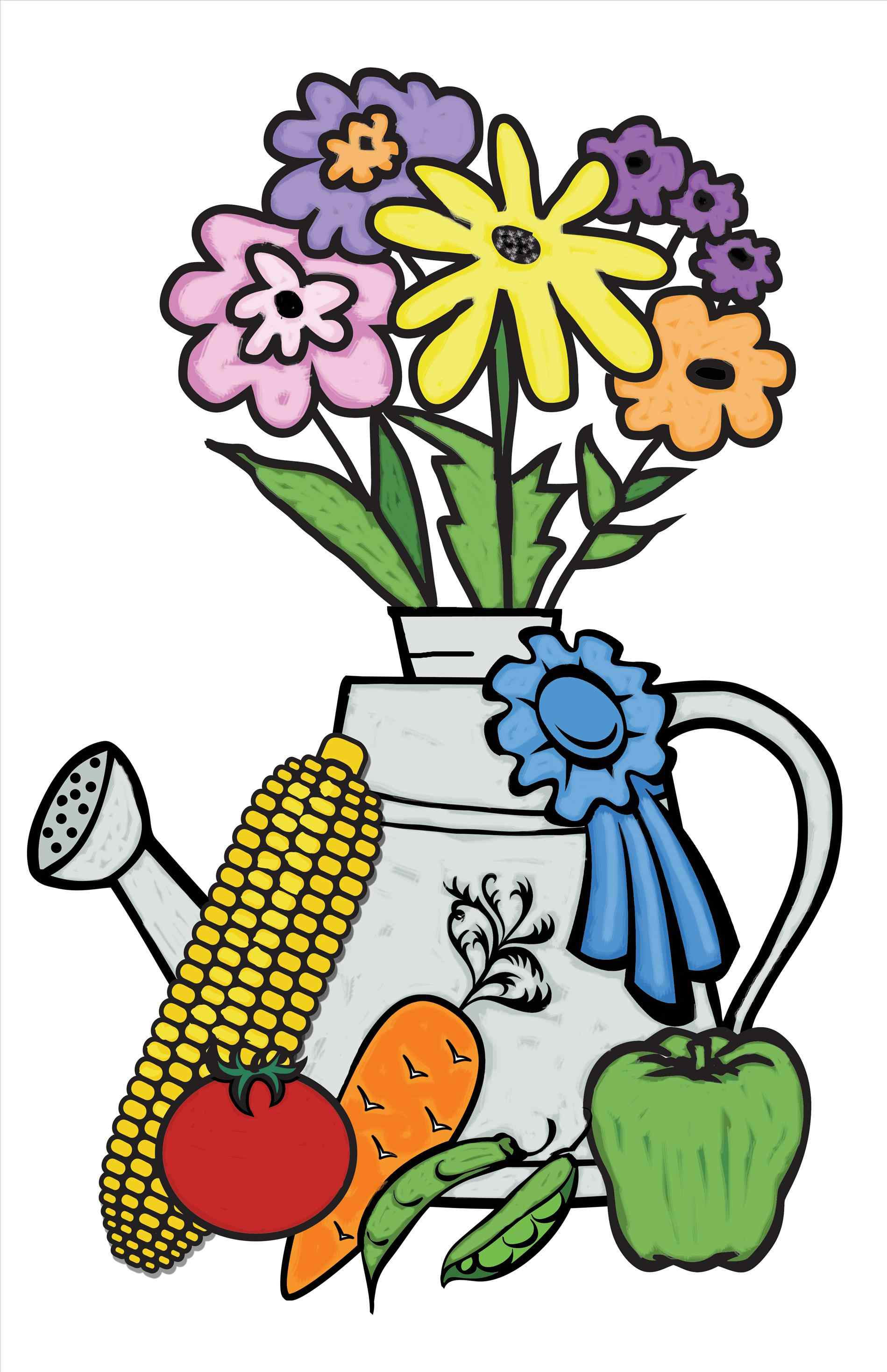1899x2936 Flower Show Clip Art Kloiding.date