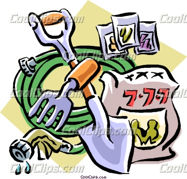 375x359 Landscaping Tools Clipart
