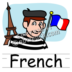 300x300 Clip Art Basic Words French Clipart Panda