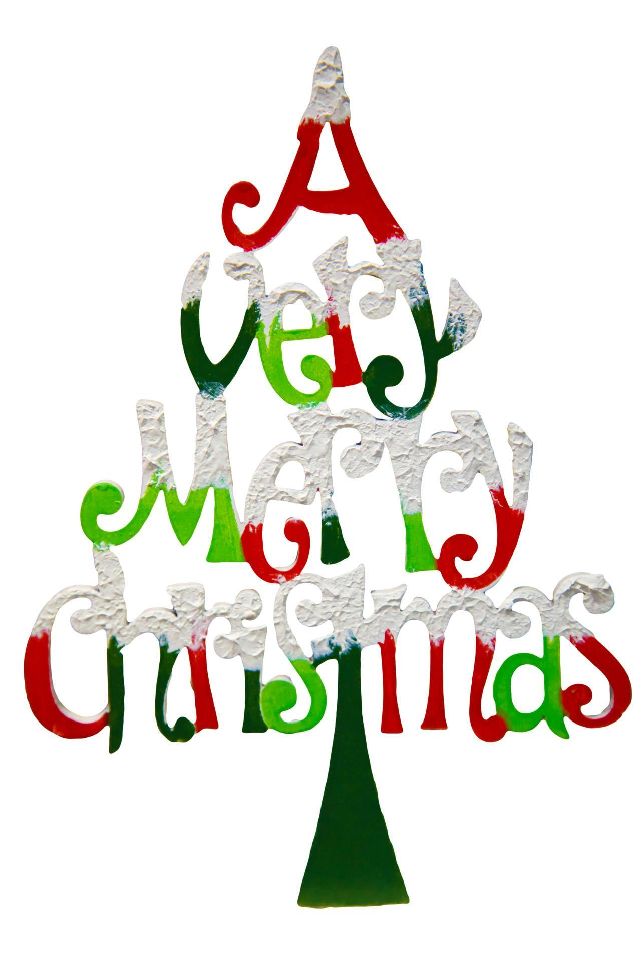 1280x1920 Merry Christmas Word Clipart