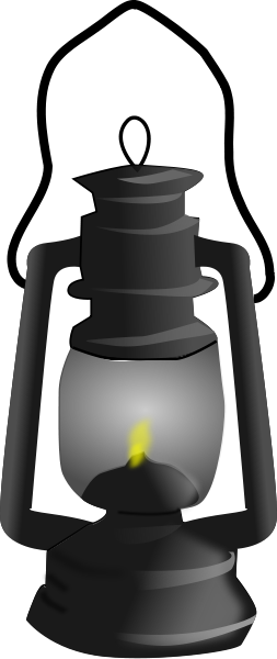 253x600 Lantern Clipart Old Lamp